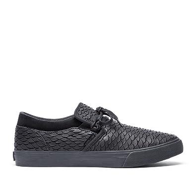 186214216fa2 Image Unavailable. Image not available for. Color  Supra Mens Cuba Black  Black Black Shoes