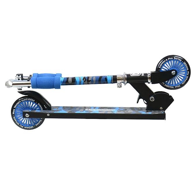 Patinete bopster plegable para niños - Azul Camuflaje