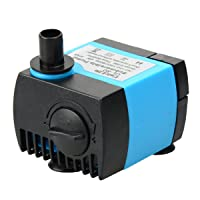 UL80 Submersible Pump, 80 GPH, 0.8M, For Aquarium/ Hydroponic/ Fish Tank /Fountain/ Statuary