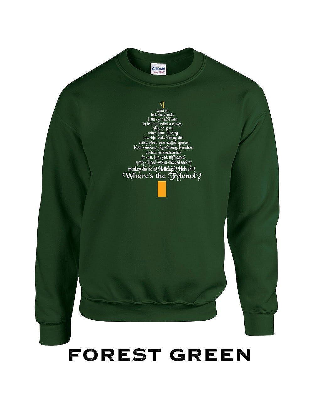 398 Clark Rant Funny Adult Crew Sweatshirt