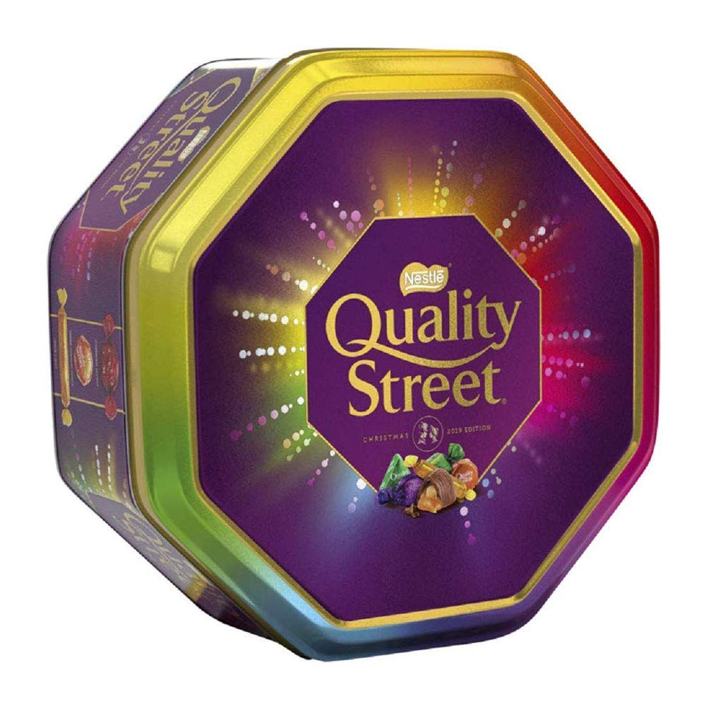 Quality Street Chocolates Tin Christmas Gift 1Kg