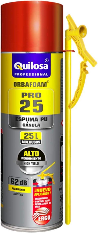 OMHSEN Espuma expansiva de Poliuretano 500 ml- aplicación Manual ...