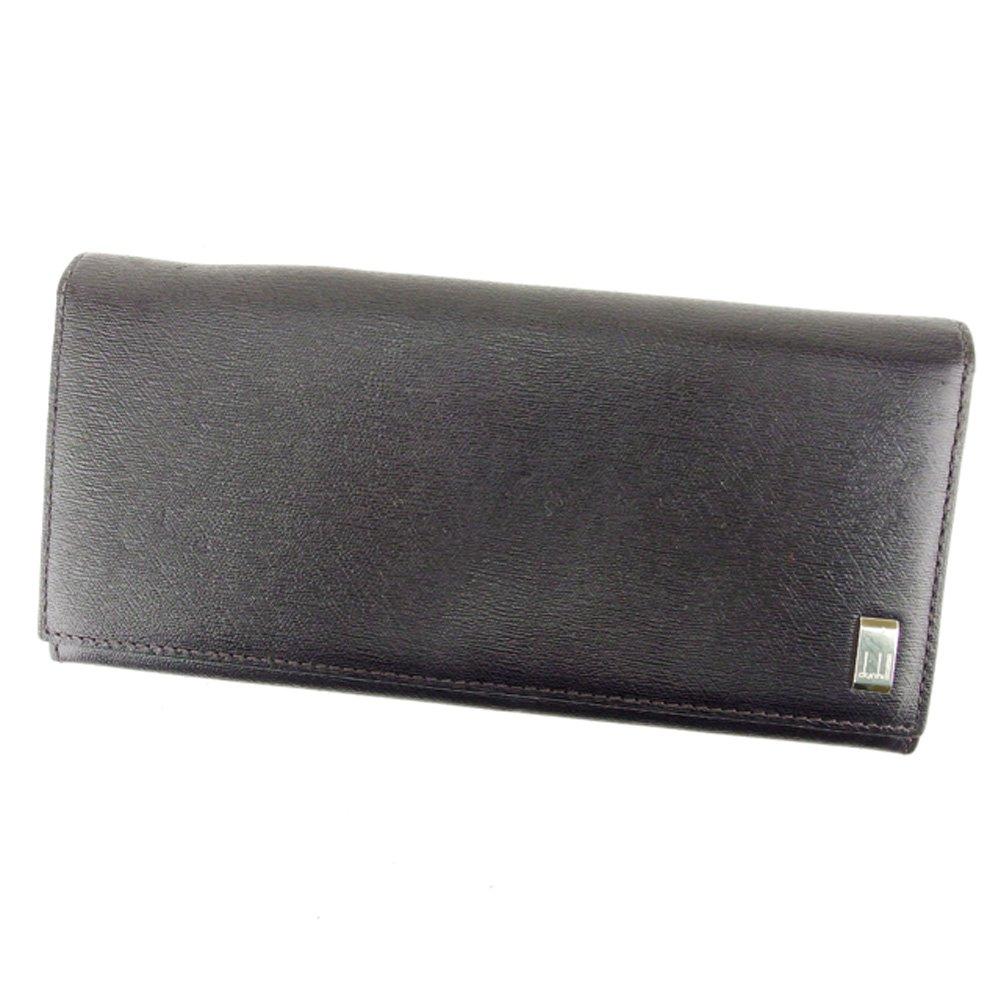 (ダンヒル) Dunhill 長財布 ファスナー付き 長財布 ブラック メンズ 中古 T6860   B07CZ92MDF
