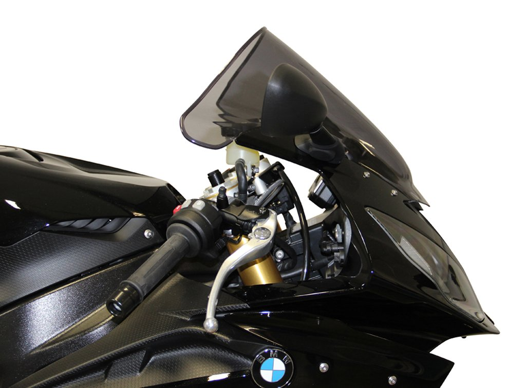 MRA Double Bubble Smoke Gray Windscreen for BMW S1000RR