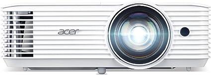 Opinión sobre Acer H6518STi - Proyector DLP de Corta Distancia (Full HD, 1920 x 1080 píxeles, 3500 lúmenes ANSI, 10.000:1, Contraste, 3D Ready, HDMI (HDCP), Audio, Keystone) Cine en casa