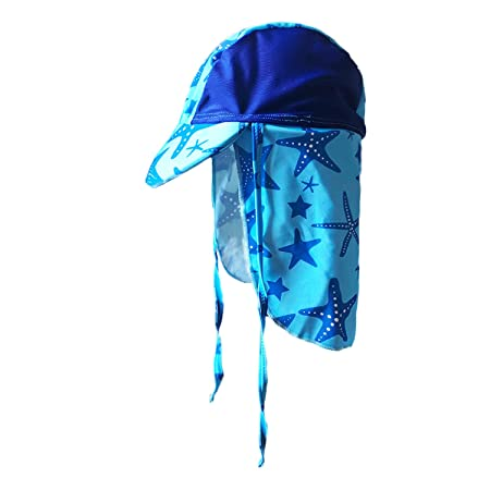 Yoccoes Designs Baby and Toddler UV Sun Hat Blue  (XS  (Baby 3-9 months ) ) 694de2f1a28