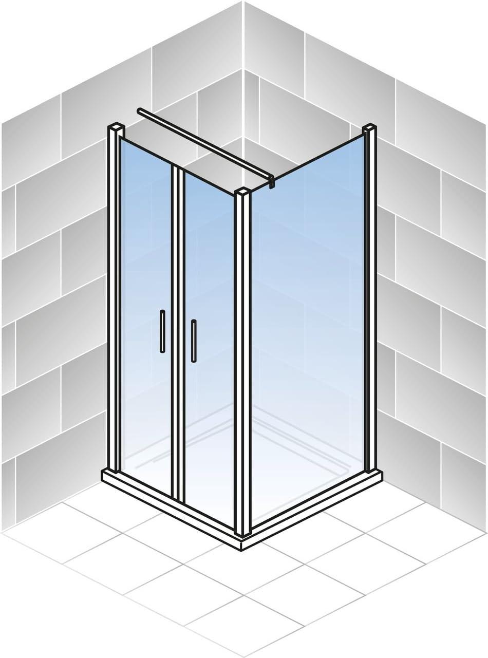Schulte colgante para puerta con aspecto pared ducha pared cristal ...