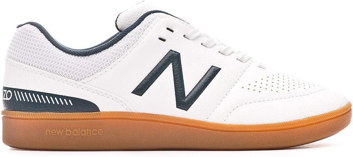 Zapatilla de f/útbol Sala New Balance Audazo v4 Control Ni/ño White
