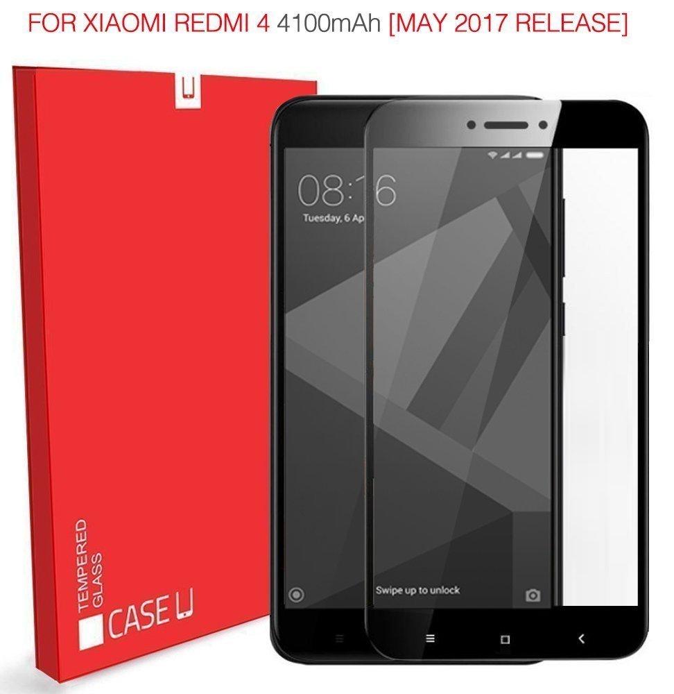 Case U Redmi 4 Tempered Glass Xiaomi Aluminium Hard For 2 Black Gold Electronics