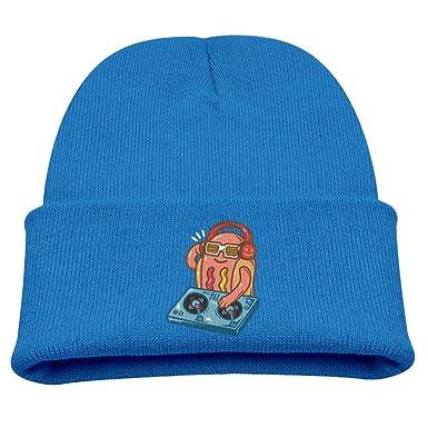 Banana King Art Hotdog Baby Beanie Hat Toddler Winter Warm Knit Woolen Cap for Boys//Girls