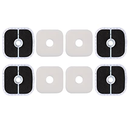 Amazon.com: HIPA (Pack de 4) Filtro de Aire + Pre Filtro ...