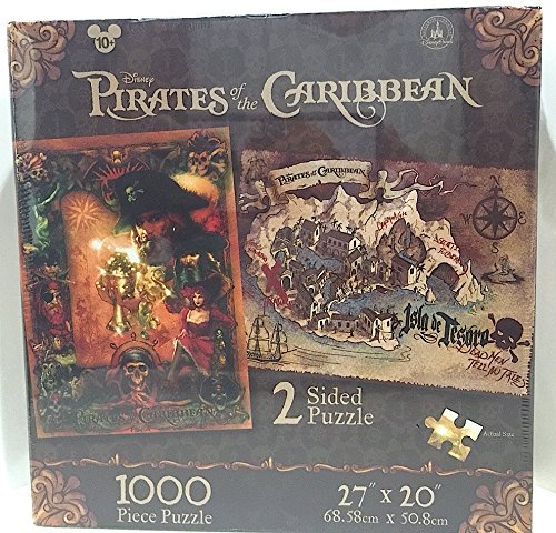 Disney Parks Pirates of the Caribbean 1000 piece 2 Sided Puzzle
