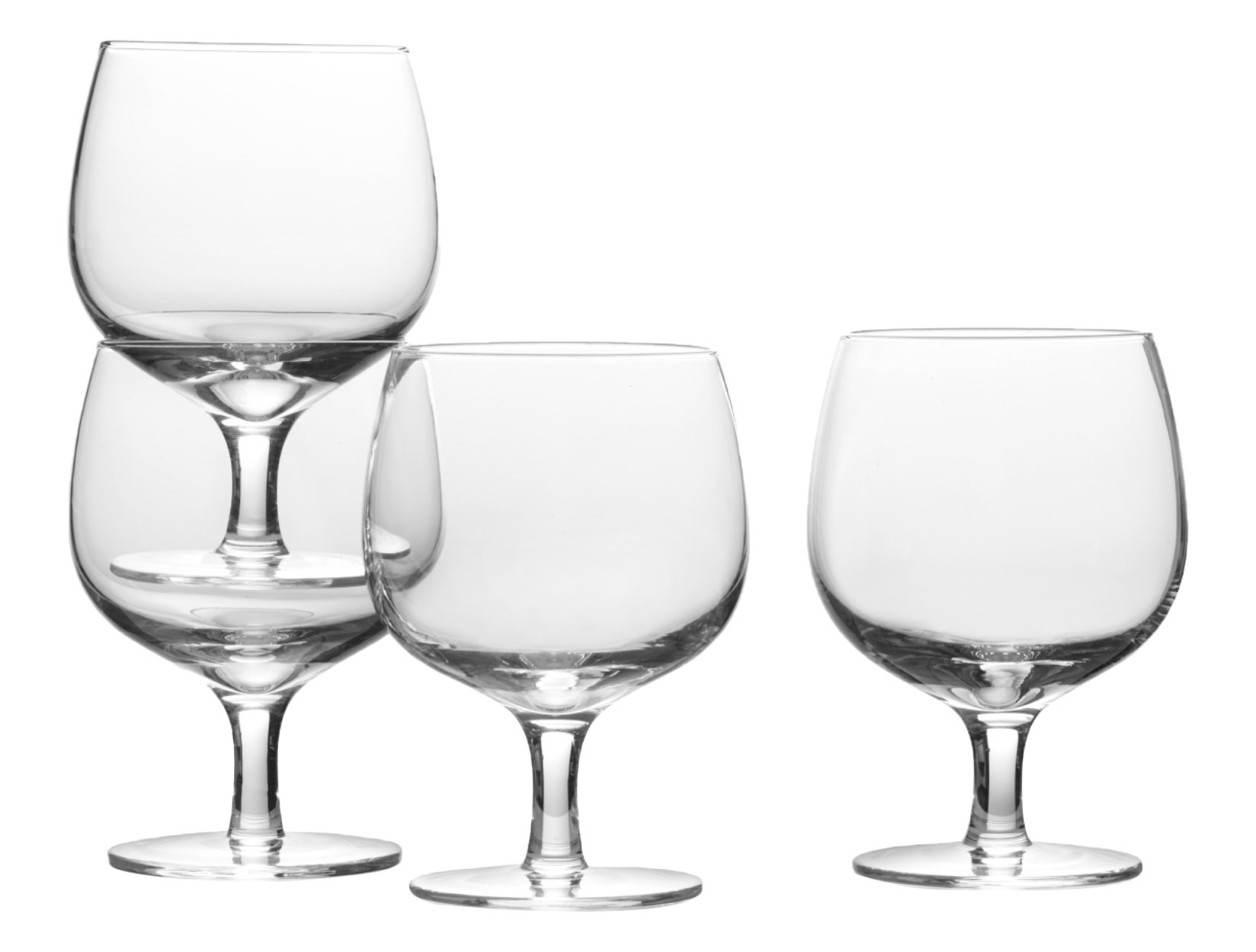 Mikasa Drink4 Stacking Wine Glass, 12.5-Ounce, Set of 4 by Mikasa