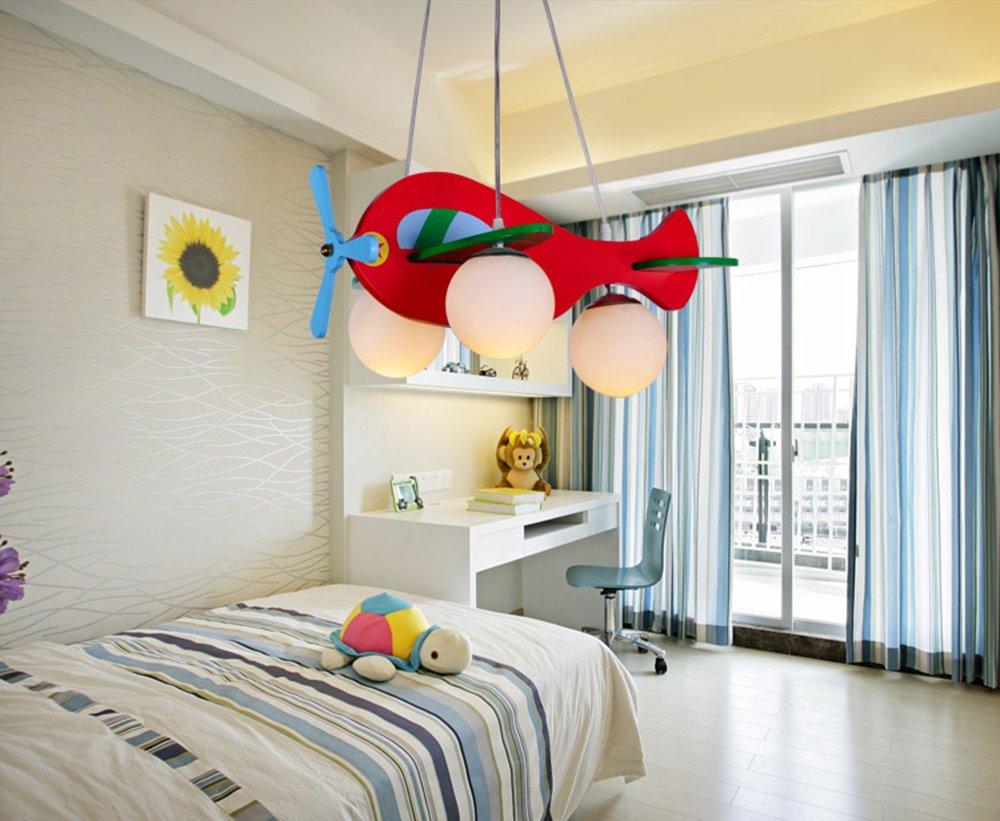 Lampada a sospensione moderna lampada a soffitto fumetto aereo in