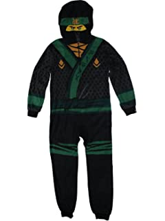 Lego Ninjago Movie Lloyd Union Suit Costume Pajamas 4-12 7cc78c8cfe2e8