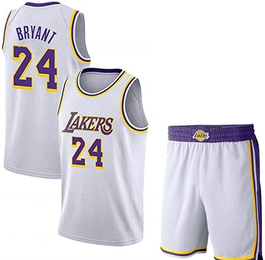 AKCHIUY Camiseta De Baloncesto para Hombre Kobe Bryant # 24 Lakers ...
