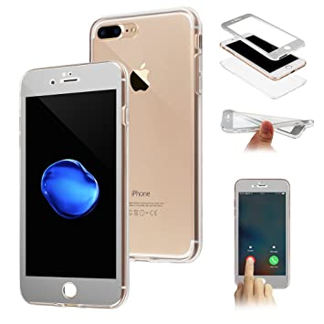 coque gel transparent iphone 8