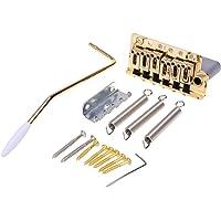Wilkinson 54mm(2-1/8 inch) Full Block ST Guitar Tremolo Bridge Pop-In Arm 6 Screws for Squier/Mexico Fender/MIJ Strat…