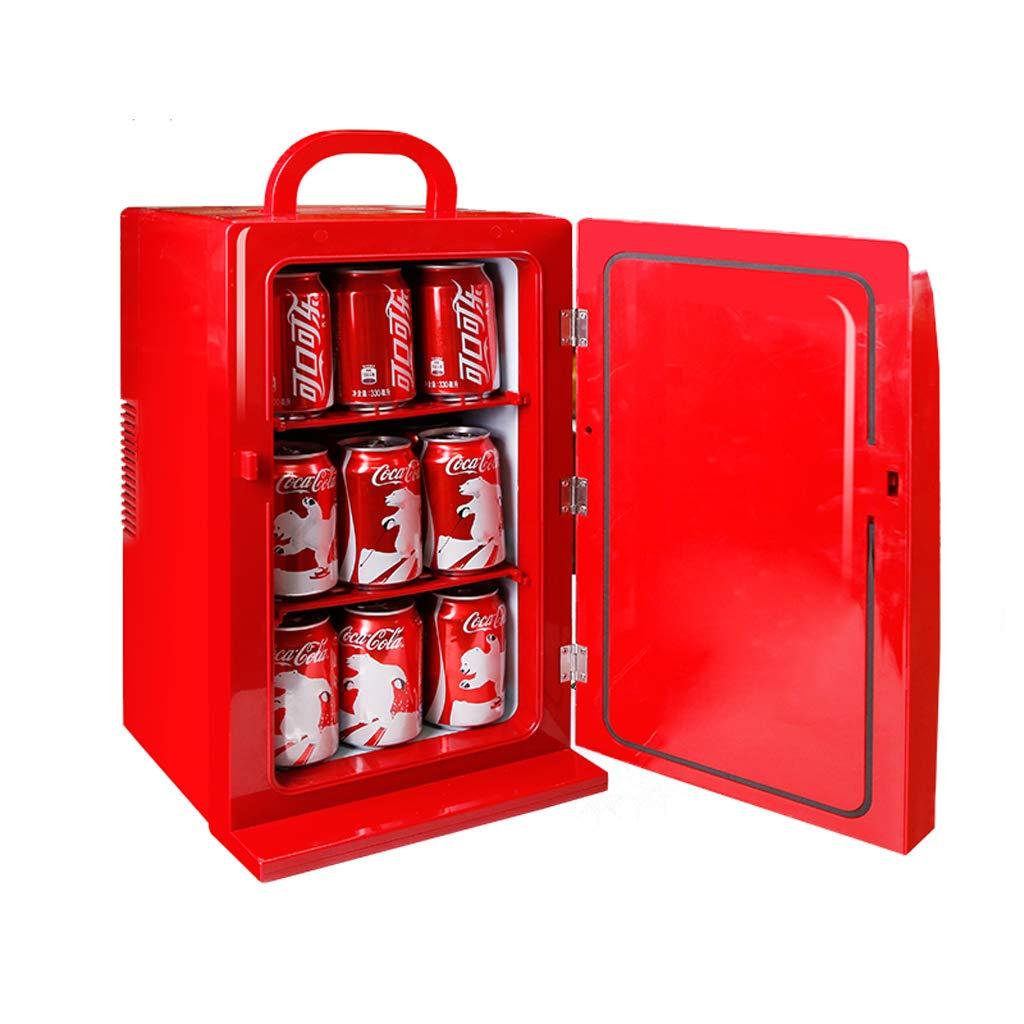 Mini frigoriferi Coca-Cola da 12 Litri congelatore Portatile per dormitori con congelatore per Auto di Piccole Dimensioni