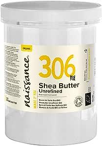 Naissance Organic Unrefined Shea Butter 1kg. 100% Pure & Natural