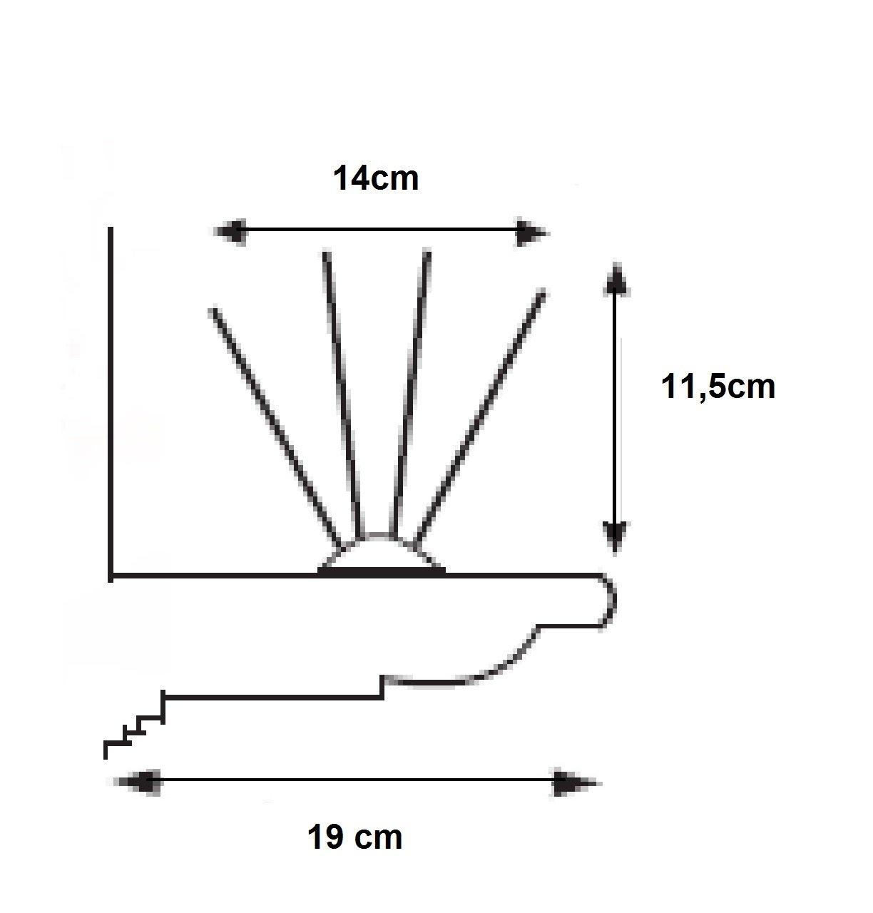 P/úa acero y base policarbonato 10 a/ños garant/ía. fijador profesional Pack 5M pinchos antipalomas AVIFIN ip140