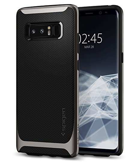 spigen 587cs22061 - custodia per samsung galaxy note 8 nero 6.3