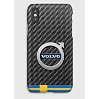 Carbon Volvo cover iPhone XS, XS Max, XR, X, 8, 8+, 7, 7+, 6S, 6, 6S+, 6+, 5C, 5, 5S, 5SE, 4S, 4,