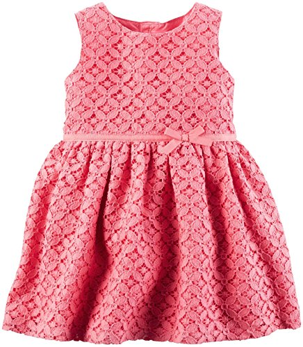 Carter's Baby Girls Dress, Pink, 18M