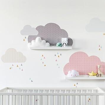 Limmaland Wandtattoo Wolken passend für Deine IKEA RIBBA / MOSSLANDA ...