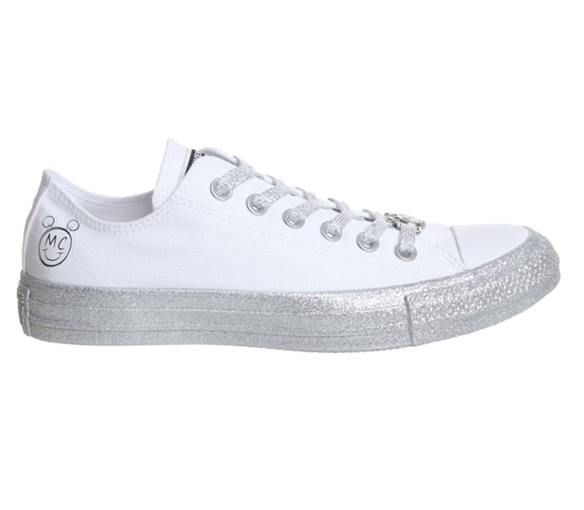 ... Converse Womens x Miley Cyrus Chuck Taylor All Star 6.5 Womens Lo  Sneaker B07CV4V2JM Mens ... a3ac1ae24