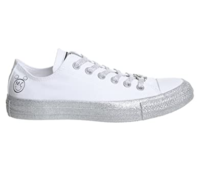 43453c4db42 Converse Womens x Miley Cyrus Chuck Taylor All Star Lo Sneaker (Mens 3  Womens