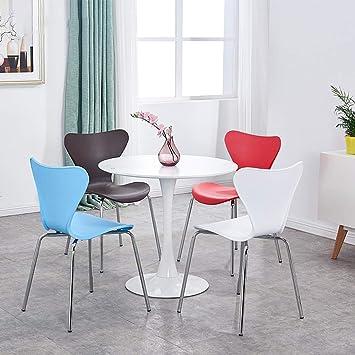Mode Moderne Minimaliste Chaise Fer Forgé Grrlloki Restaurant oCxrBde