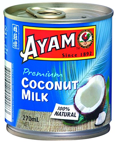 Ayam Brand - Premium Coconut Milk 270ml - 9 fl oz (Pack of - Uni Milk