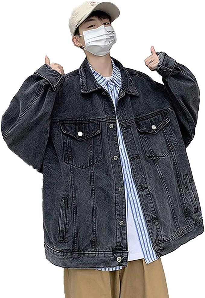 [もうほうきょう] コート メンズ デニムジャケット ジージャン gジャン アウター カジュアル 春