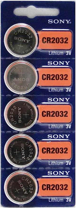 Sony Cr2032 3v Lithium Cell Battery Elektronik