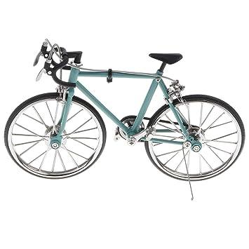 Amazon.es: MagiDeal 1:16 Modelo de Bicicleta de Carrera de ...