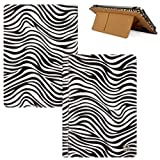 Quality Book Style, Classic Zebra Animal Print Vangoddy Brand Mary Collection Leather -ette