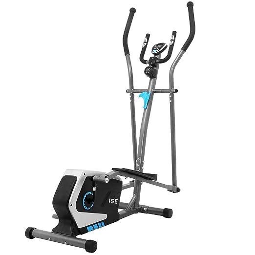 ISE Bicicleta Elíptica Profesional de Fitness para Casa con Sensor ...