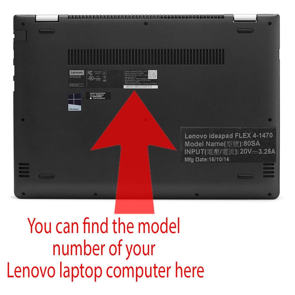 Funda rígida mCover para 14 pulgadas de Yoga 520 computadoras portatile (** NO compatible con las series Yoga 510 / 530 de 14 pulgadas **)  Negro