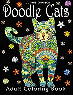 Amazon Com Adult Coloring Book Cats 9780692600818 Two Hoots