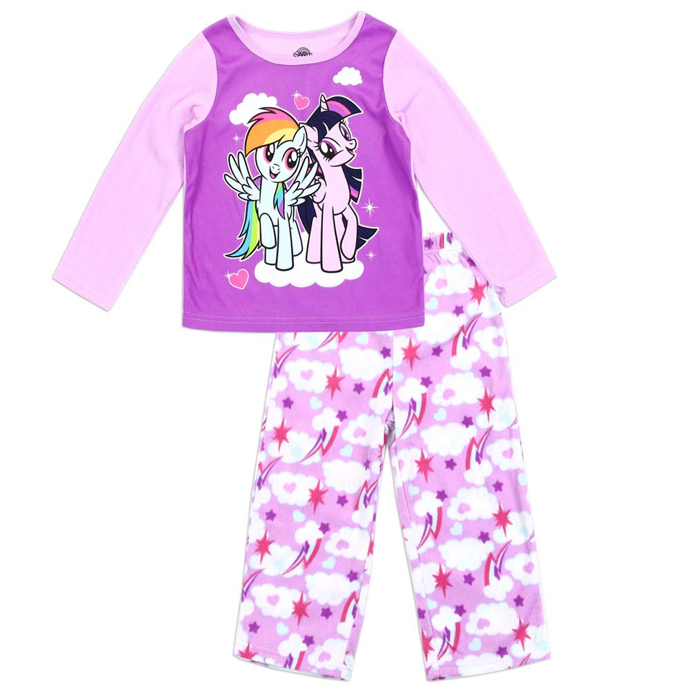 2T My Little Pony Girls 2pc Pajama Set Toddler Sizes