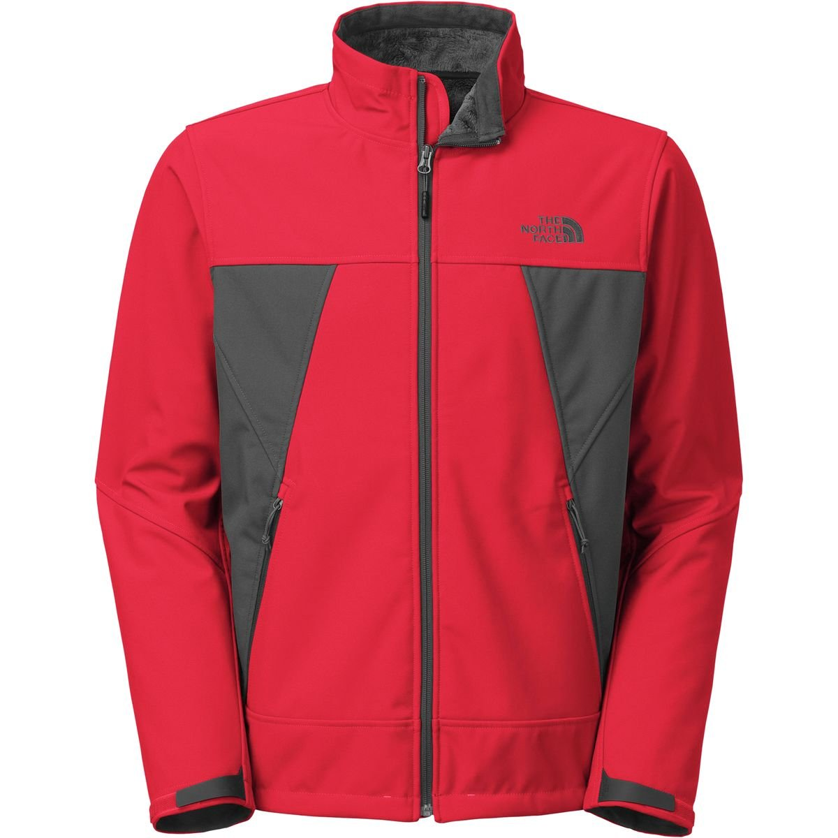 The North Face Apex Chromium Thermal Jacket Mens TNF Red/Asphalt Grey L