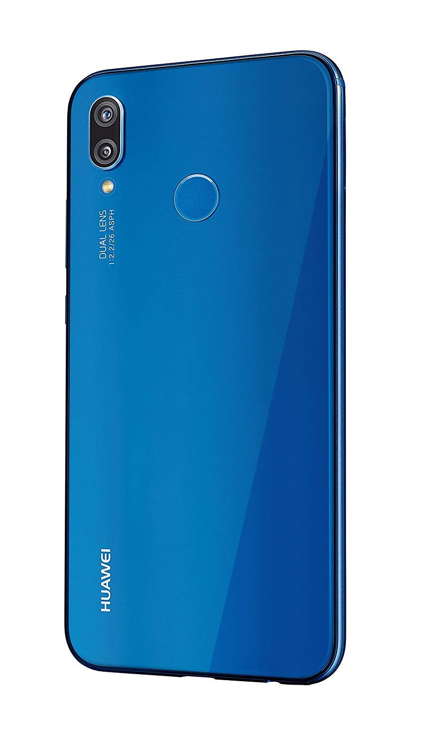"Huawei P20 Lite 64GB Klein Blue, Dual Sim, 5.84"" inch, 4GB Ram, (GSM Only, No CDMA) Unlocked International Model, No Warranty"