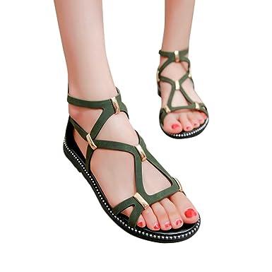 Damen Sommer Flach Sandalen Btruely Frauen Flip Flops