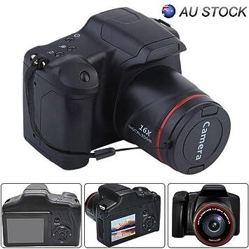 yaxin69 Cámara SLR Digital Pantalla LCD TFT de 2,4 Pulgadas 1080P ...