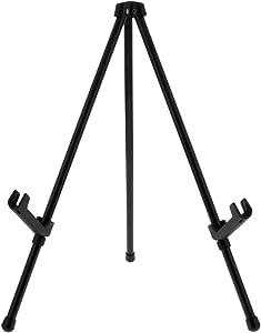 "US Art Supply ""Exhibitor Black Steel Tabletop Instant Display Easel"