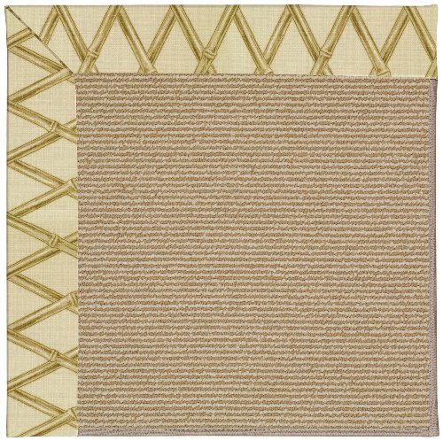 Bamboo Capel (Capel Rugs Zoe-Sisal Rectangle Machine Tufted Area Rug, 10 x 14', Bamboo)