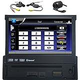 1 Din de 7 pulgadas Receptor Bluetooth Est¨¦reo Digital Media coche con GPS FM…