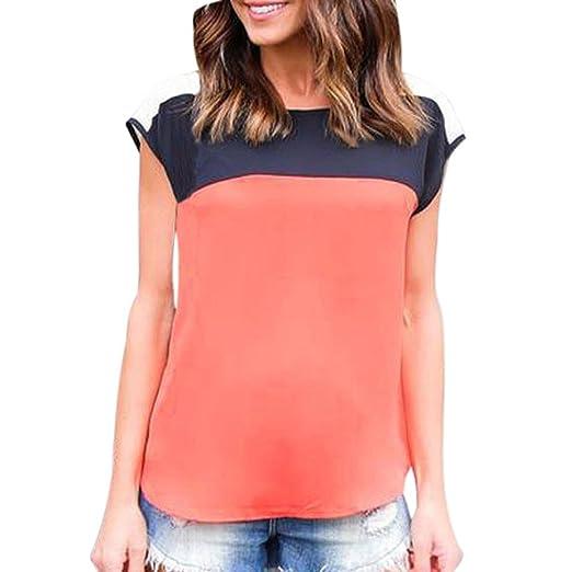 7cb7e4782560 FORUU Women Summer Vest Top Sleeveless Shirt Blouse Casual Tank Tops T-Shirt  (S