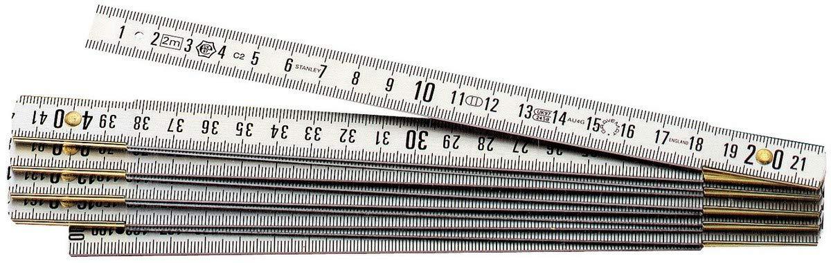 Stanley 0-35-304 Mesure pliante 1 m x 15 mm en duralumin Gravemat